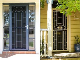 Federation door with Invisi-Gard screens secures heritage style homes