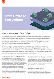 From office to everywhere: What's the future of the office?