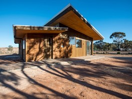 Mildura Eco Living Centre by EME Design wins 2016 Sustainability Awards - Small Commercial prize