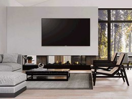 4 creative ideas for placing your TV and Escea fire together