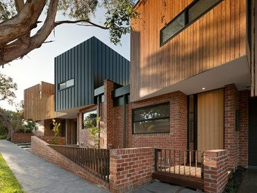 Alphington Townhouses by Green Sheep Collective. Photography by Emma Cross