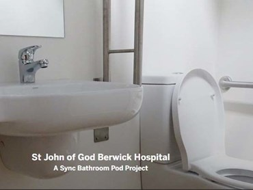 Sync pod at St John of God Hospital