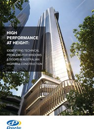 High-performance at height: The benefits of multipoint locking systems for awning windows in high-rise buildings