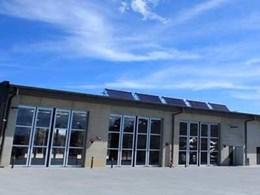 DMF installs EFAFLEX SFT-S high speed folding doors at ACT fire rescue facility