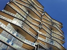 Urbanline provides appealing maintenance-free facade at Brisbane apartments