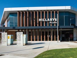 Operational efficiency achieved with Fujitsu's VRF air conditioning system at Hillarys Plaza