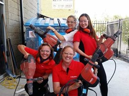 How Hilti has taken the lead in encouraging more women in construction