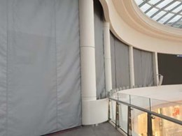Smoke compartmentalisation achieved at Chadstone cinema using SmokeStop smoke curtains
