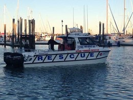 Hyne Timber Rescue gets blessing, joins Hervey Bay's marine rescue fleet