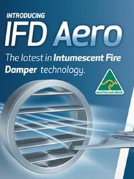 Kilargo unveils new blade design for intumescent fire dampers at ARBS 2016