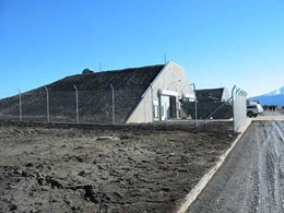 Spantech constructs five 23m explosive storehouses at Waiouru Military Camp, NZ
