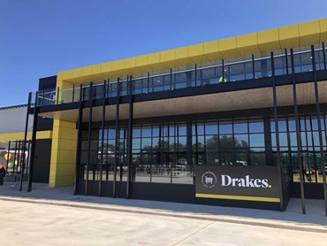 Drakes Supermarkets Distribution Centre in Adelaide