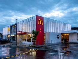 Massive retrofit with LED lights saves energy for McDonald's stores