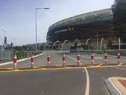 Leda's bollards and barriers protect Australia's leading stadiums