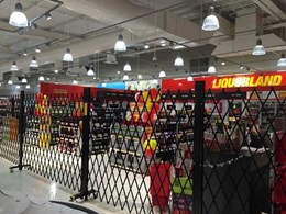 ATDC safety barriers ensure compliance for Liquorland at Gungahlin Coles Supermarket