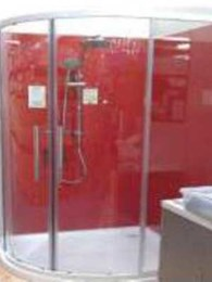 Dream bathrooms created with ISPS Acrylic and Bonethane splashbacks, shower wall panels and CulourTek vanities