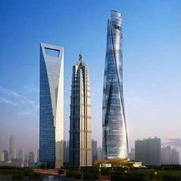World's second-tallest building tops out
