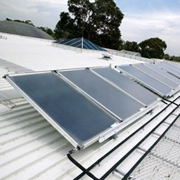 Sunny side up: can solar hot water systems go together with good design?