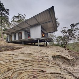 Outpost 742709-9 by Drew Heath Architects wins Small Commercial category at 2014 Sustainability Awards