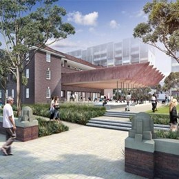 New designs for Green Square: architect proposes extension of heritage building to create more public space