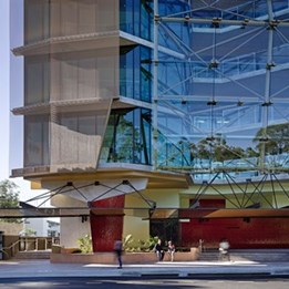 Sir Samuel Griffith Centre by Cox Rayner Architects earns high praise at 2014 Sustainability Awards