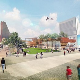 Perth's new civic and cultural hub inspired by Aboriginal leader and traditions