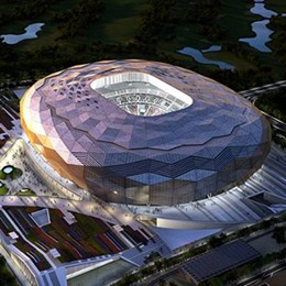 Air conditioned mega-stadium slated for Qatar 2022 FIFA World Cup