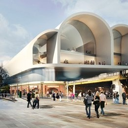 Doubt falls on Flinders St Station concept by Hassell and Herzog & de Meuron in Melbourne