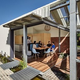 Victoria home deliberately left incomplete by Andrew Maynard Architects