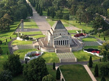 Shrine of Remembrance, Galleries of Remembrance by ARM Architecture Image: John Gollings