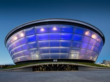 AWARD FOR REGIONAL GROUPS SSE Hydro, Glasgow, Scotland by Foster + Partners (architects) and Arup. Photography by McAteer