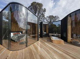 Eco retreat inspired by the beauty of Tasmania's Coles Bay