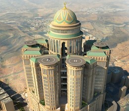Mecca desert fortress to be world's largest hotel