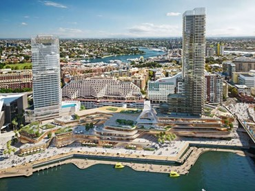 The Harbouside Shopping Centre will receive a total overhaul as part of massive redevelopment plans for Darling Harbour