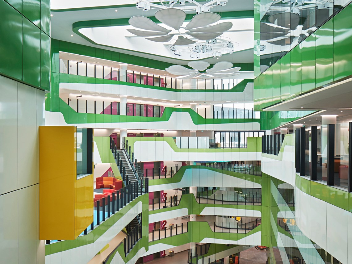 The whimsical children's hospital designed from a child's perspective