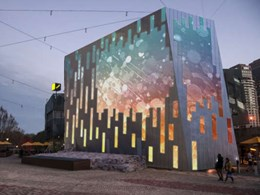 Architecture and digital media meet in world-first at Fed Square