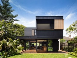 A striking modular home designed to last