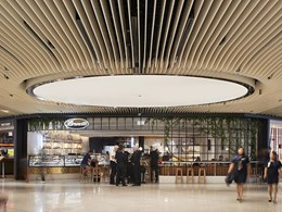 Grand airport retail zone redevelopment by NH Architecture