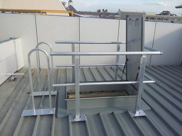 AM-BOSS ACCESS LADDERS & FALL PROTECTION SYSTEMS