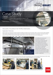 Case study: acoustic insulation for HVAC silencers