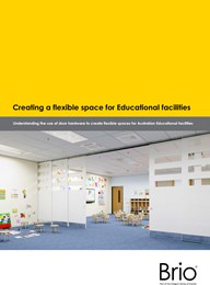 Specifying for flexibility in education spaces