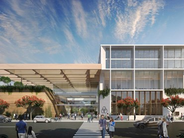 Dominic Finlay Jones Architects' concept design for the new Coffs Harbour Cultural and Civic Space. Image: Dominic FInlay Jones Architects'