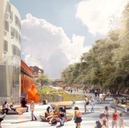 Aspect Studios designs New York style highline for Sydney [video]