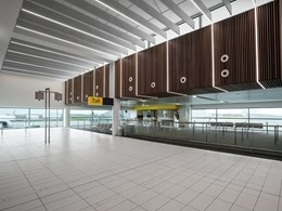 Armstrong Ceilings take to the sky with Brisbane International Airport terminal expansion