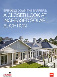Breaking down the barriers: A closer look at increased solar adoption