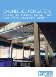 Engineered for safety: Passive fire protection systems for cross-laminated timber