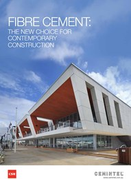 Fibre cement: The new choice for contemporary construction