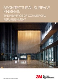 Architectural surface finishes: The new face of commercial refurbishment