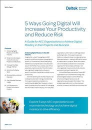 5 ways going digital will increase your productivity and reduce risk