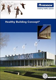 The Healthy Building Concept: Seeking to establish a healthy, comfortable indoor environment that simultaneously keeps energy usage to a minimum